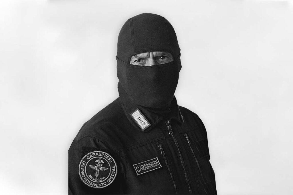 comandante alfa GIS Carabinieri in KMA