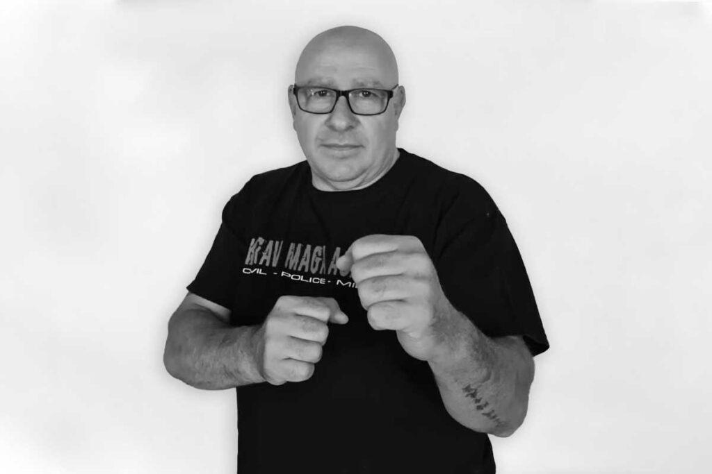 Giancarlo Bertola istruttore Krav Maga KMA Impreria