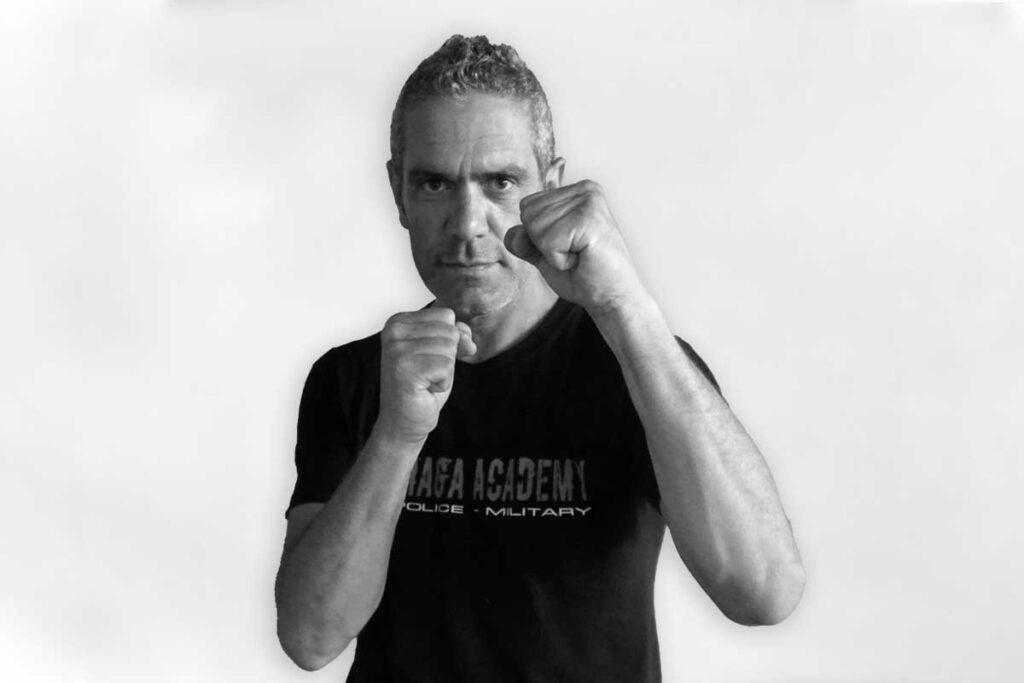 Fabrizio Gasbarro istruttore Krav Maga KMA Impreria